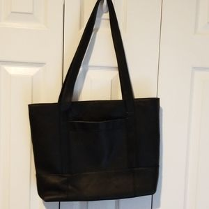 PIEL Colombian Black Leather Tote